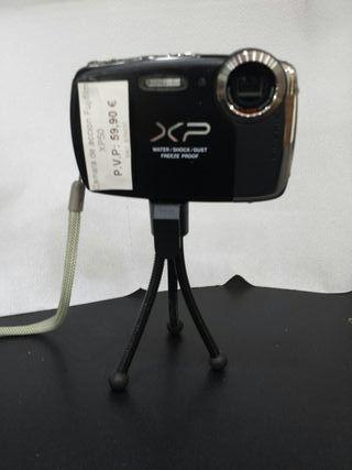 cámara de acción fujifilm xp50