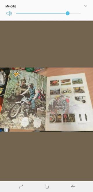 el mundo de las motos álbum de cromos
