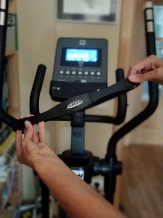 Bicicleta elíptica BH i.ZK900