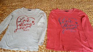 2 camisetas de manga larga de Tommy Hilfiger