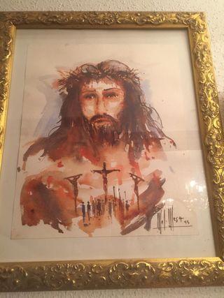 Precioso cuadro de Cristo