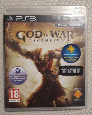 God of War Ascension. Ps3.