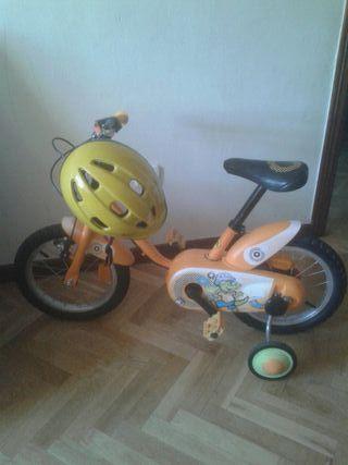 vendo Bicicleta niño decathlon