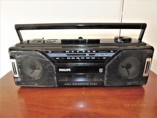 RADIO CASSETTE PHILIPS AQ5190 AÑO 1987