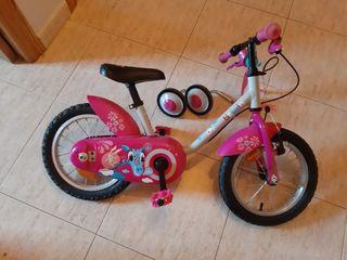 Bicicleta niña Decathlon
