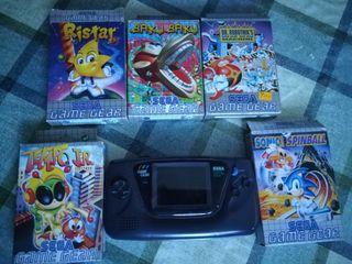 juegos y consola Game Gear