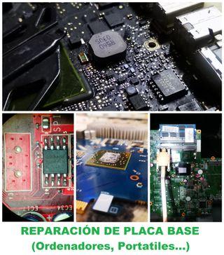 Reparación Profesional Placa Base Ordenadores