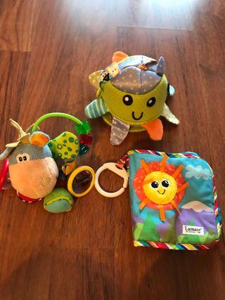 Pack juguetes bebé