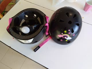 casco patinete bici niños