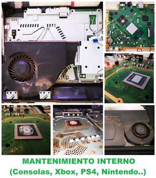 Mantenimiento Integral Interno en Consolas