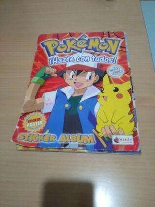 Álbum Pokemon Nintendo 1998.