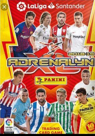 Cromos Adrenalyn XL LFP 2018-2019