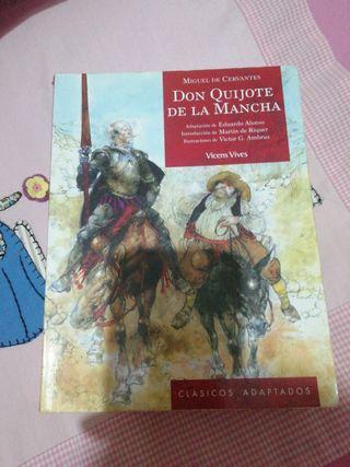 Libro Don Quijote de la Mancha