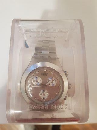 Reloj Swatch Silver Mujer