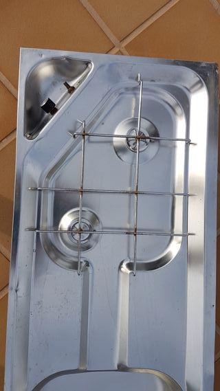 Conjunto cocina-fregadero