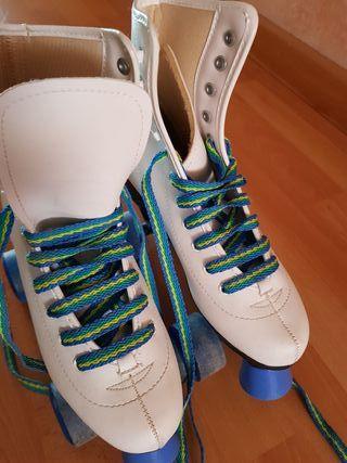 patines 4 ruedas n°37