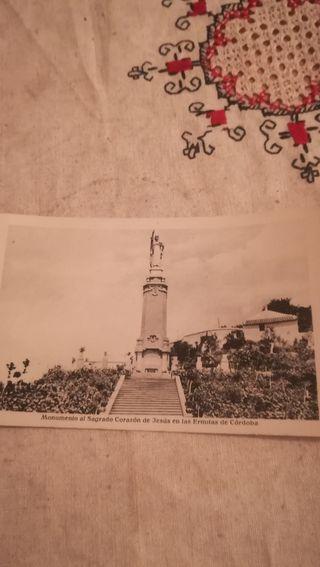 Antigua postal fotográfica, Sagrado Corazón de Jes