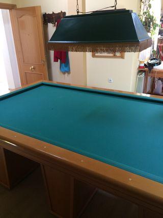 Mesa de snooker-billar