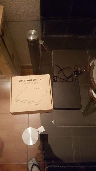 Grabadora CD DVD Externa