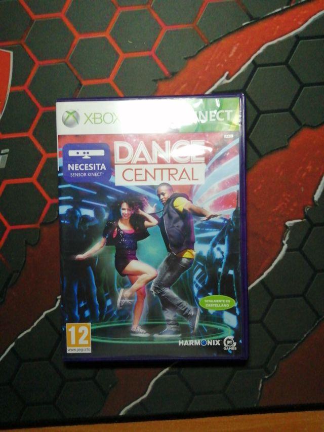 juego para Xbox 360 dance central para kinect