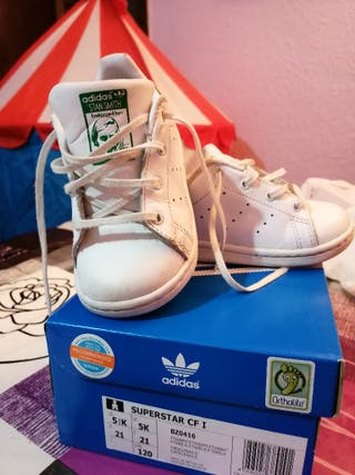 zapatillas bebé Adidas superstar
