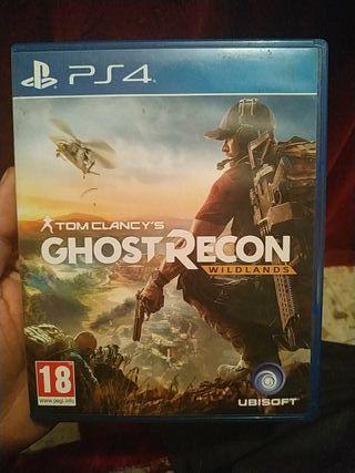 Vendo ghost recon wildlands PS4 esta como nuevo