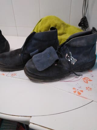 Botas de Seguridad usadas