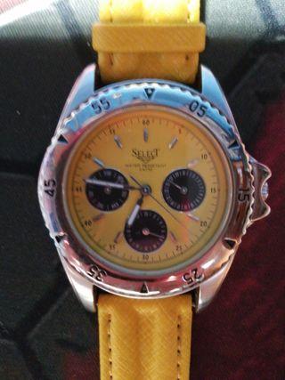 reloj de cuarzo de la marca select