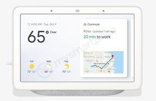 "Google Home Hub 7"" Pantalla Altavoz Nuevo"