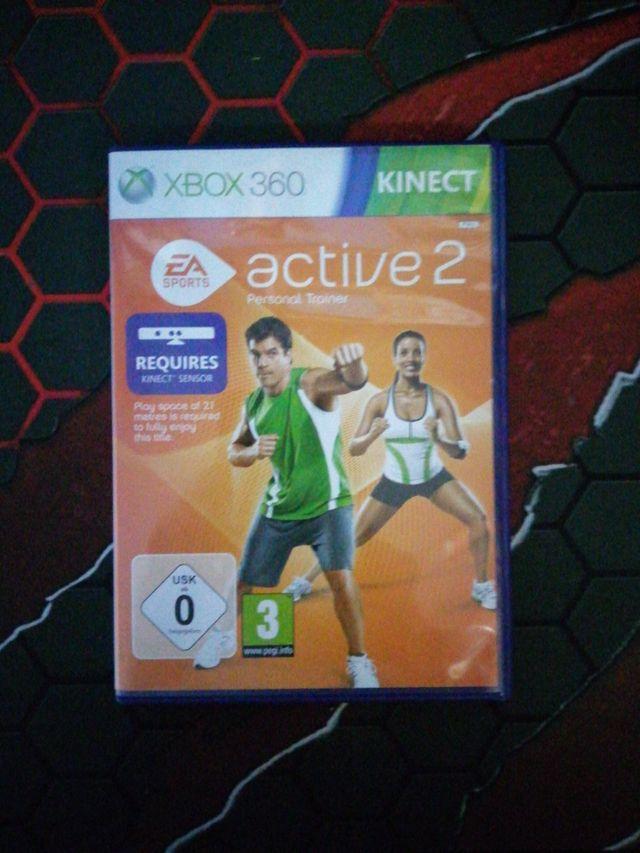 juego de Xbox 360 active 2 para kinect