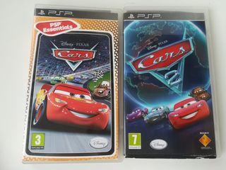 lote videojuegos CARS PSP