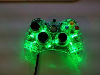 Xbox 360 oficiales mando de shock con luz