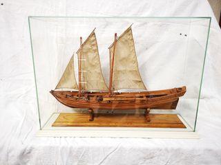 Maqueta barco falua almirante
