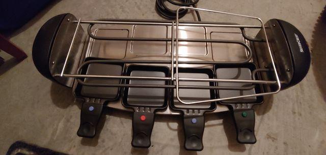 Plancha grill y raclette nueva