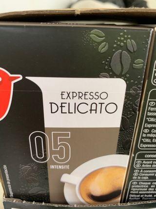 Se venden cápsulas de cafetera nespreso