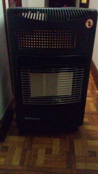 Calefactor de bombona de butano, con manguera
