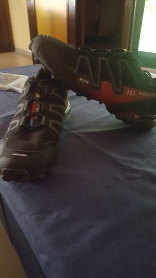 zapatillas n.45 y conjunto Nike xl