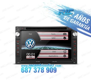 "RADIO NAVEGADOR 7"" VW USB GPS TACTIL HD"