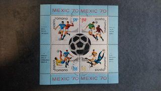 Sellos filatelicos fútbol años '70-'90