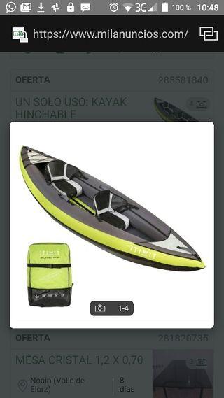 kayak hinchable completo
