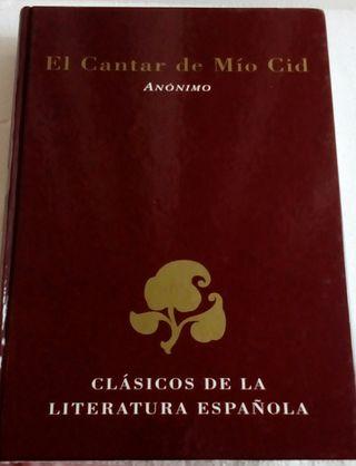 Libro Cantar del Mío Cid