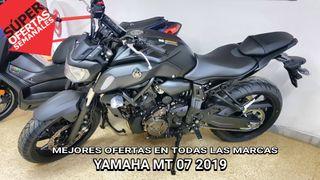 2019 YAMAHA MT07 MOTOS NUEVAS MEJORES OFERTAS