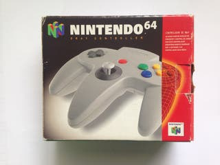 Mando Nintendo 64 con caja