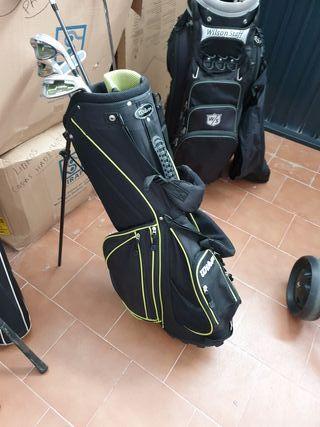 palos de.golf con carro