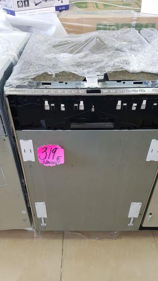 lavavajillas encastrable Siemens sr76t090eu