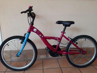 """Bicicleta infantil Niña - Rueda 20"""" -"""