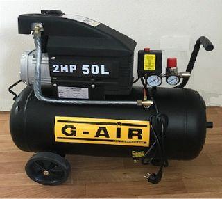 Compresor de aire eléctrico con ruedas 50 Litros 2