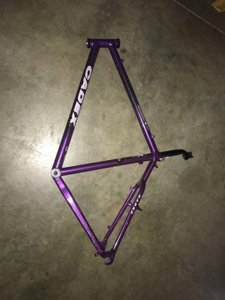 Cuadro de bicicleta de aluminio