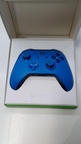 Mando Xbox One Gamepad Inalámbrico AZUL