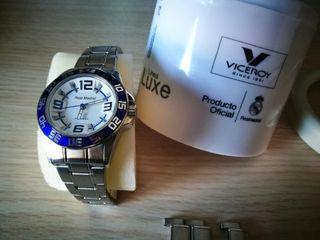 estreno Real Madrid reloj viceroy